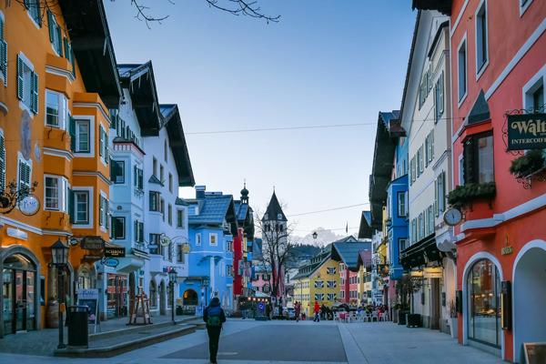 kitzbuhel-center austria tyrol