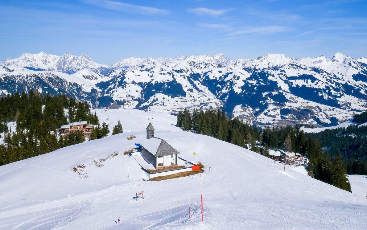 kitzbuhel-mountain-church austria tyrol