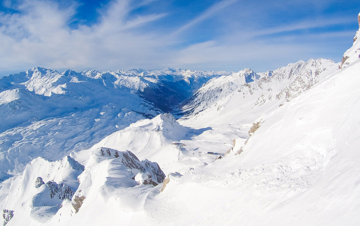 ski skiing snowboard mountain austria st anton