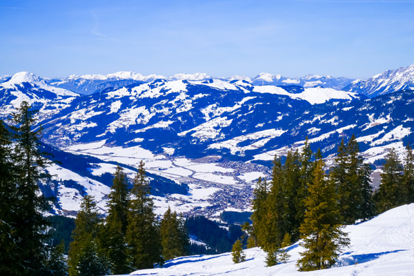village-view-kitzbuhel tyrol austria