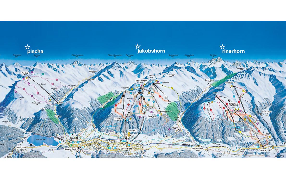 davos-jakobshorn ski map
